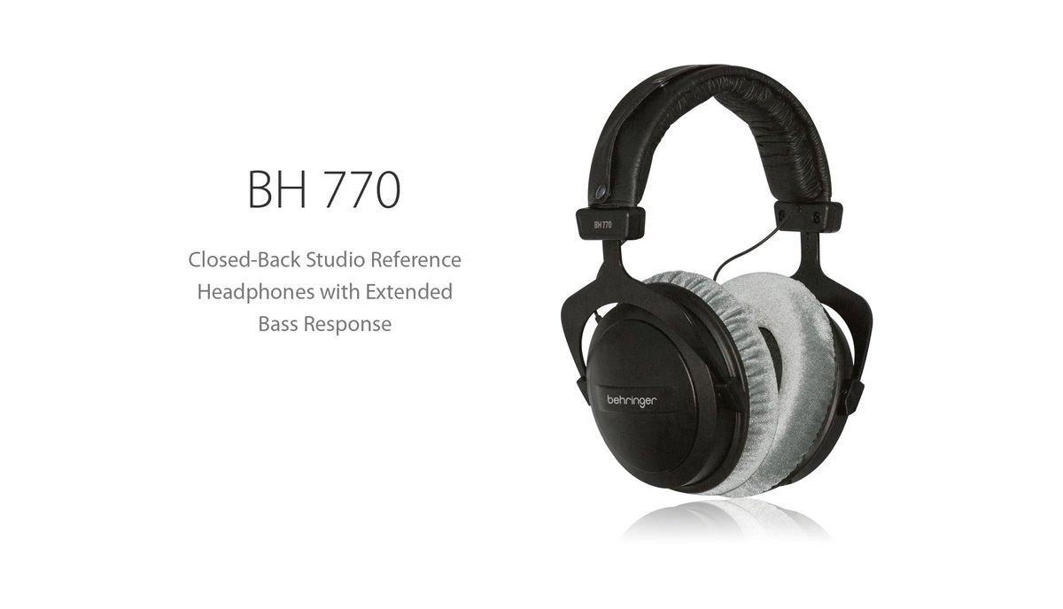 behringer bh 770 headphones