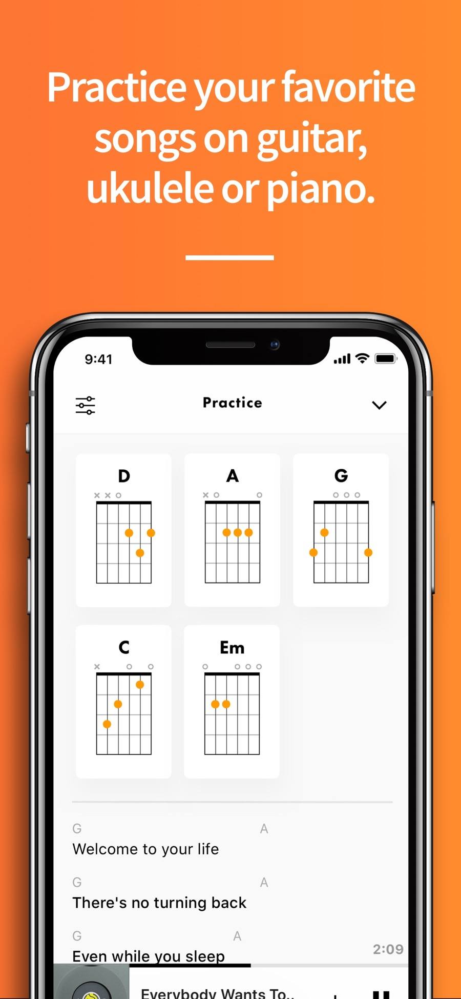 Fender Songs приложение