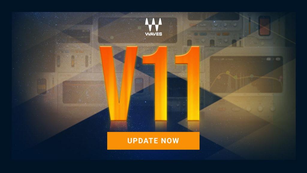 Обновление Waves V11