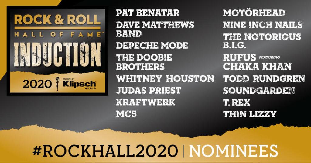 претенденты навключение вЗал славы рок-н-ролла в2020 году