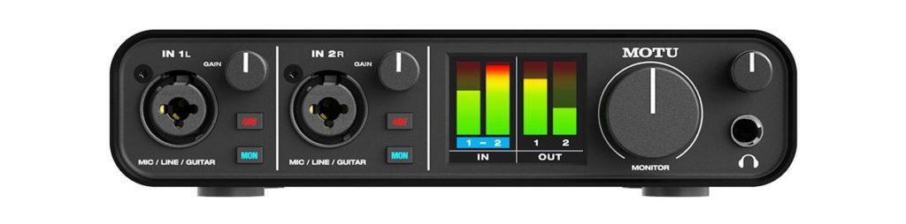 Аудиоинтерфейс MOTU M2