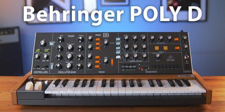 Behringer PolyD: полифонический 4-голодный клон Moog Minimoog