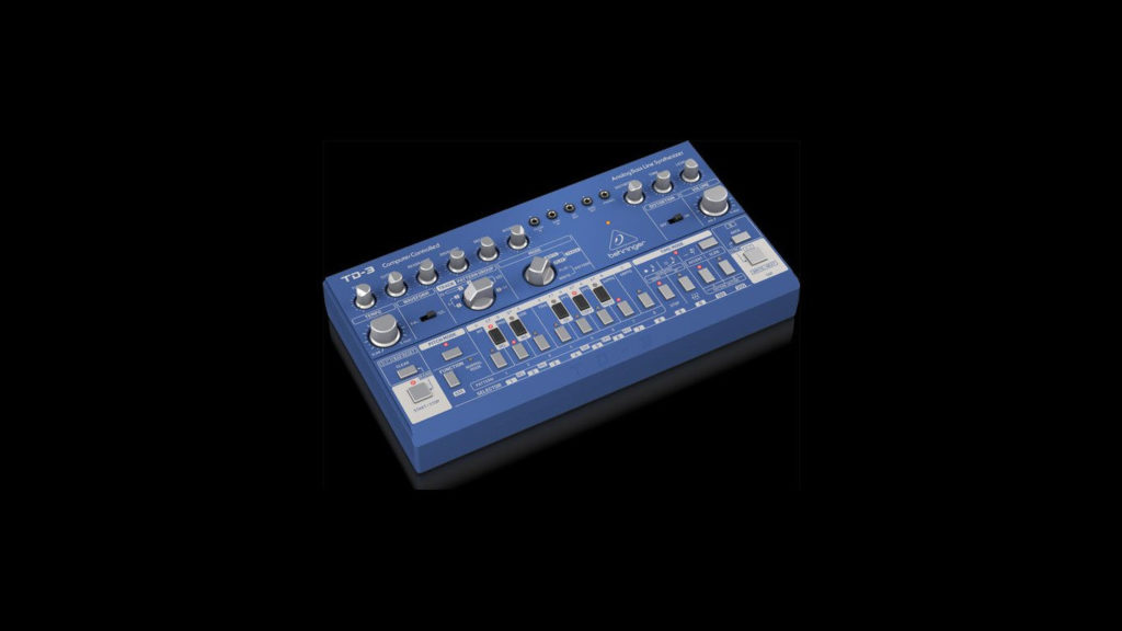 Behringer TD-3 Blue