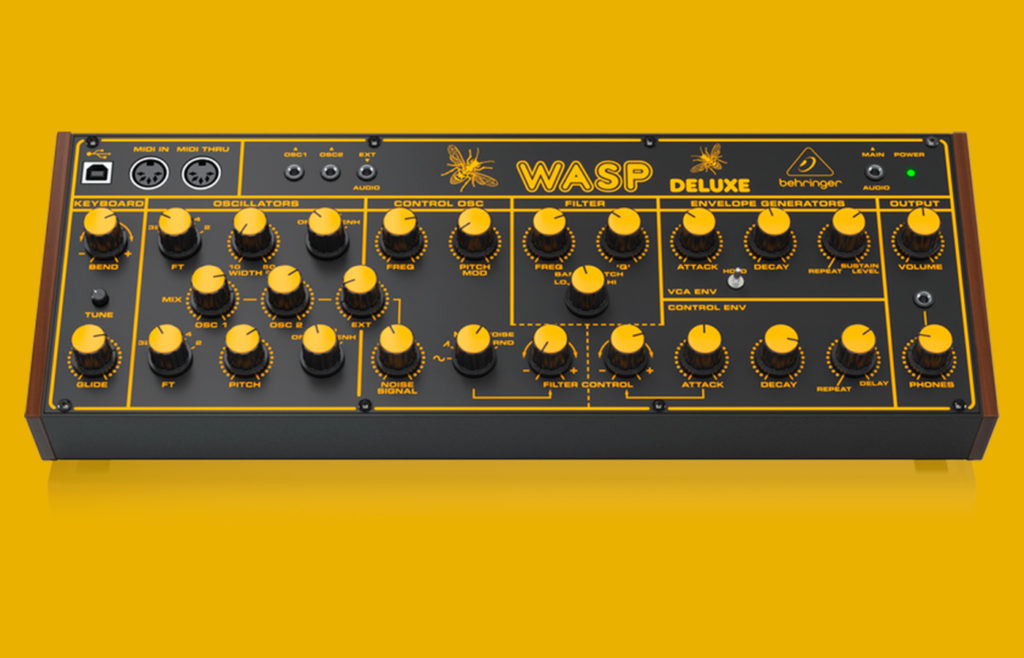 Синтезатор Behringer WASP Deluxe