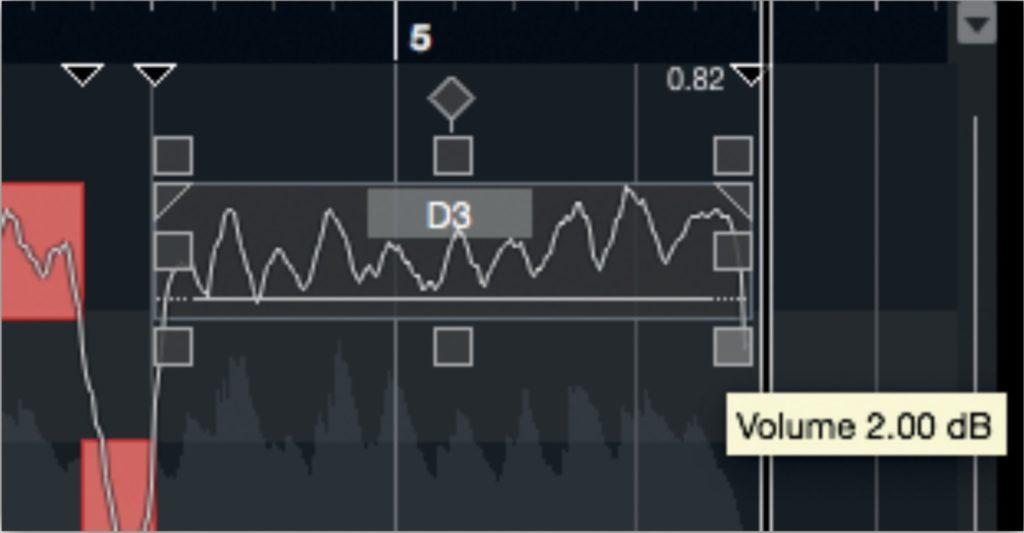 Steinberg Cubase 10 VariAudio 3
