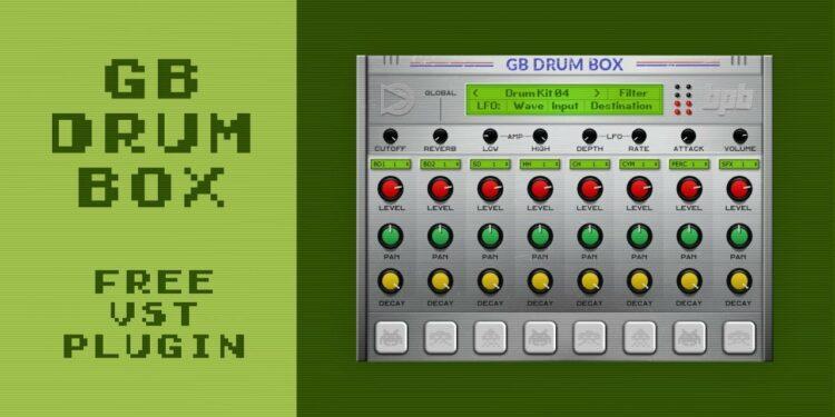 GB DrumBox: бесплатный эмулятор звуков Nintendo Game Boy