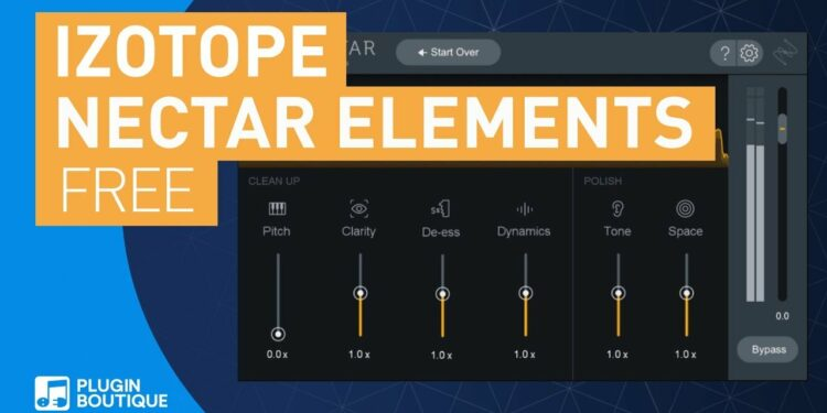 iZotope Nectar Elements скачать бесплатно
