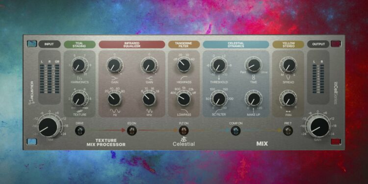 Процессор эффектов Acustica Audio Celestial можно скачать бесплатно— разработчики дарят его музыкантам наРождество