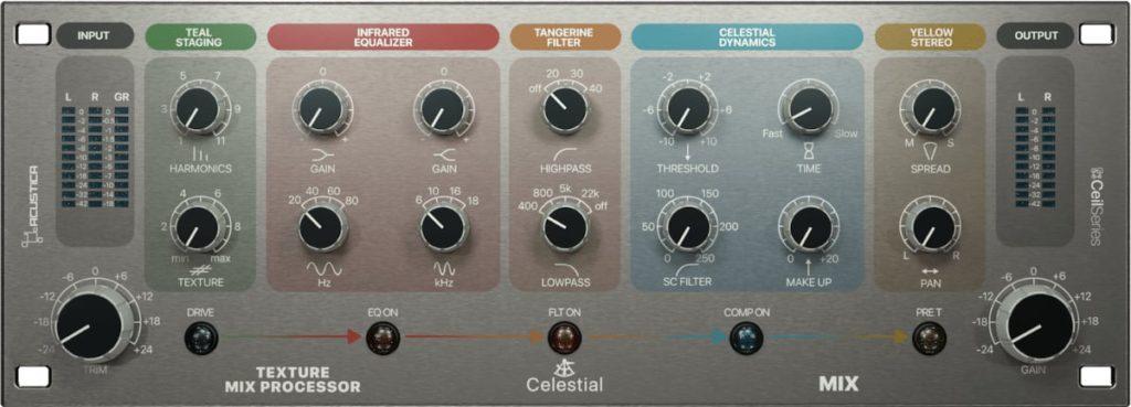 Acustica Audio Celestial GUI