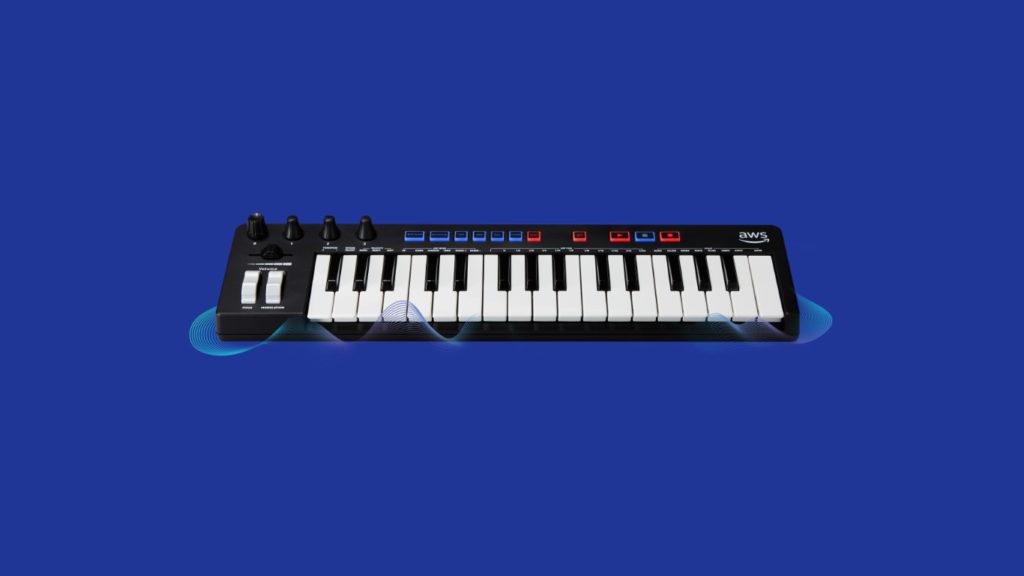 MIDI-клавиатура Amazon AWS DeepComposer