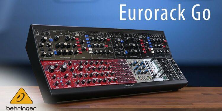 Behringer Eurorack Go: корпус для двух рядов модулей размером 140HP