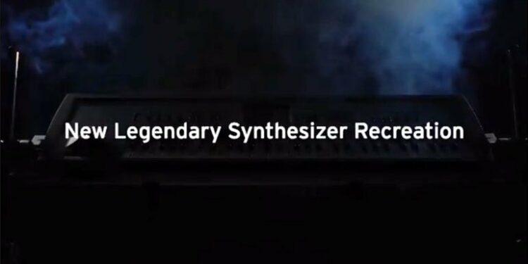 Тизер нового синтезатора KORG