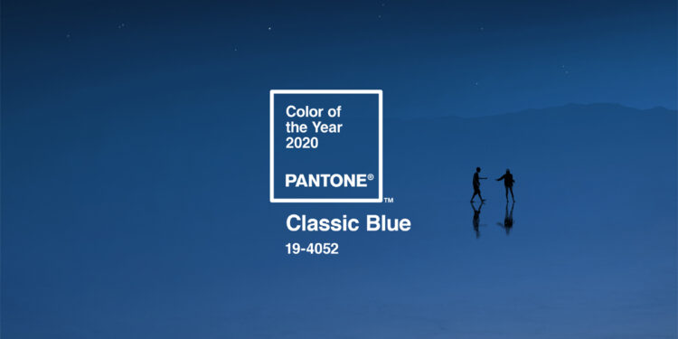 PANTONE Color of the Year 2020: The Classic Blue 19-4052 Sample Pack