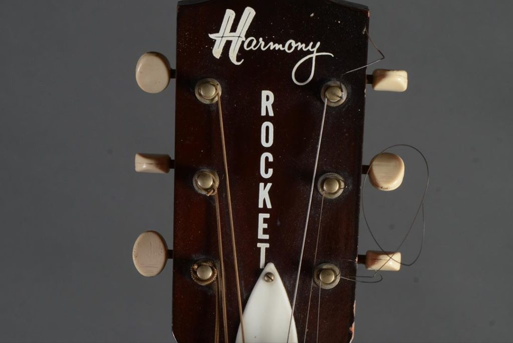 Первая гитара Рэнди Роадса Harmony Rocket 1963