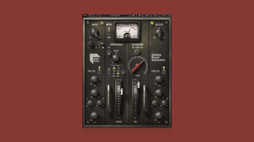 Waves Abbey Road Saturator: аналоговая сатурация консолей знаменитой лондонской студии