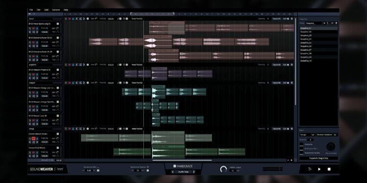 Boom Library SoundWeaver наведёт порядок вбиблиотеке сэмплов иавтоматически создаст новые звуки