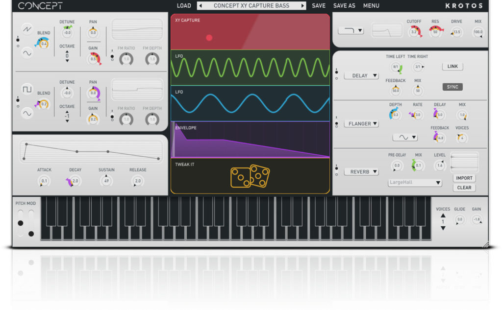 VST-синтезатор Krotos Concept Modulation Synth