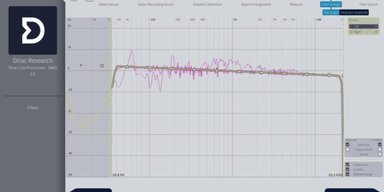 Измерительное ПО Dirac Live For Studio
