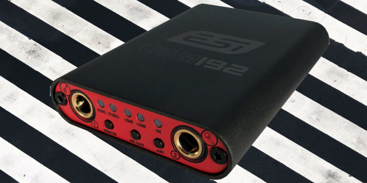 ESI UGM192 ультракомпактный аудиоинтерфейс
