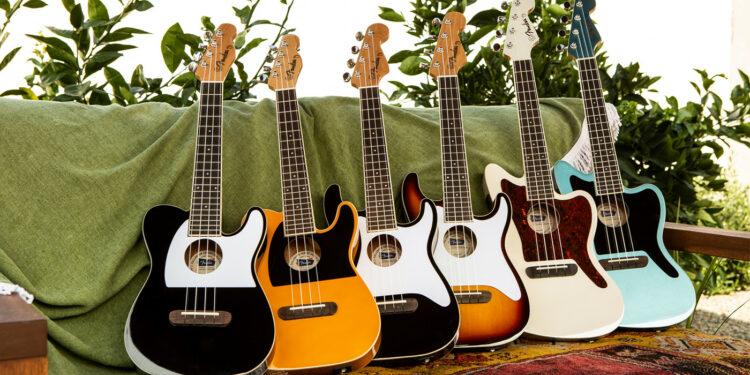 Укулеле Fender Fullerton Ukulele Series