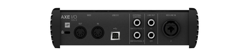 IK Multimedia AXE I/O SOLO аудиоинтерфейс для гитаристов