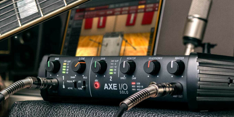Аудиоинтерфейс IK Multimedia AXE I/O SOLO