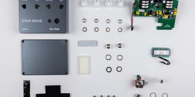 Korg Nu:Tekt OD-S набор для сборки педали овердрайва