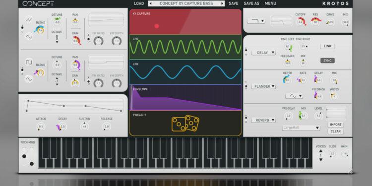 VST-синтезатор Krotos Concept Modulation Synth