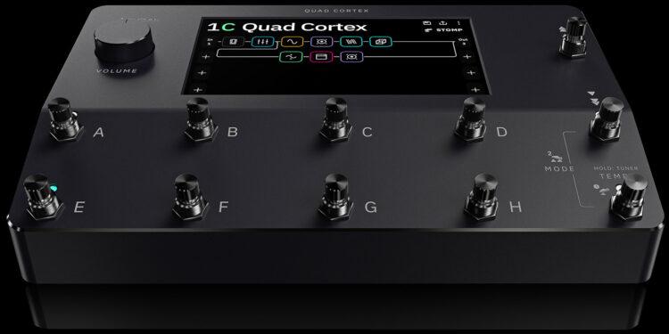 Neural DSP Quad Cortex гитарный процессор с нейронной сетью