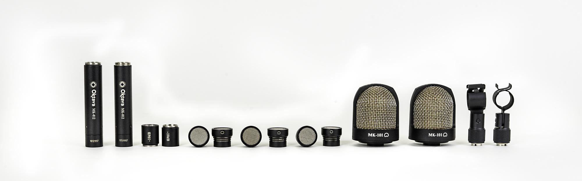 Комплект поставки Oktava MK-012-10 MSP8 обзор