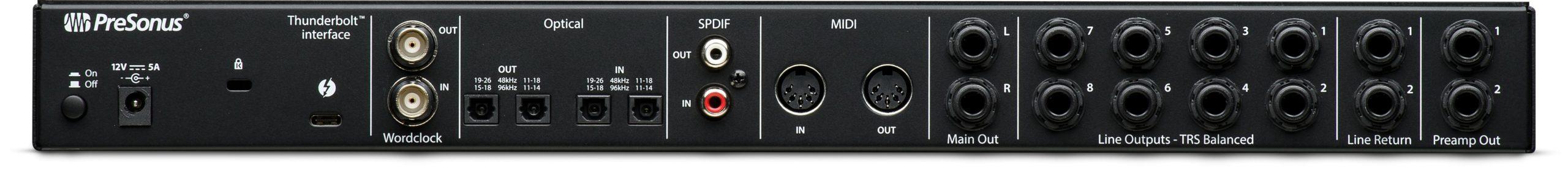 Аудиоинтерфейс PreSonus Quantum 2626 Thunderbolt 3