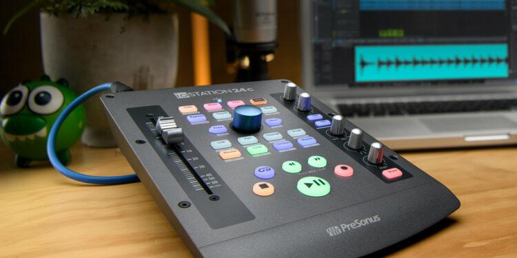 Аудиоинтерфейс контроллер PreSonus ioStation 24c