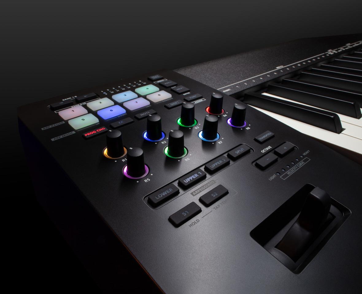 Roland A-88MKII— первый вмире MIDI-контроллер споддержкой MIDI 2.0