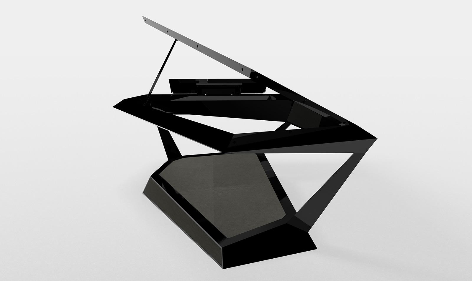 Концепт пианино будущего Roland GPX-F1 Facet Grand Piano