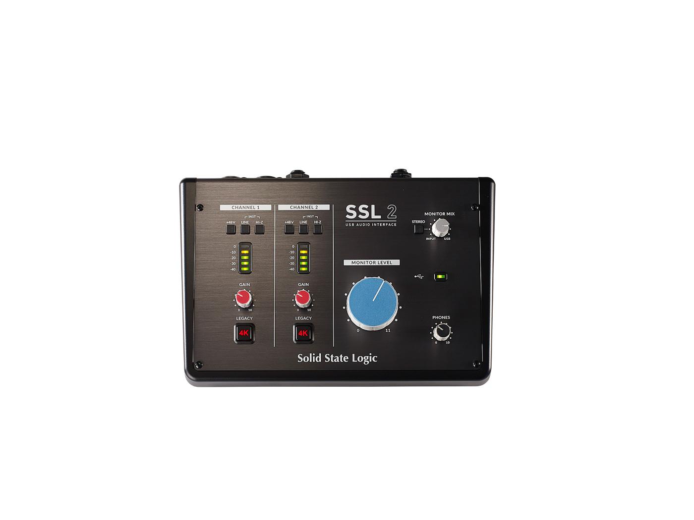 Аудиоинтерфейс SSL 2