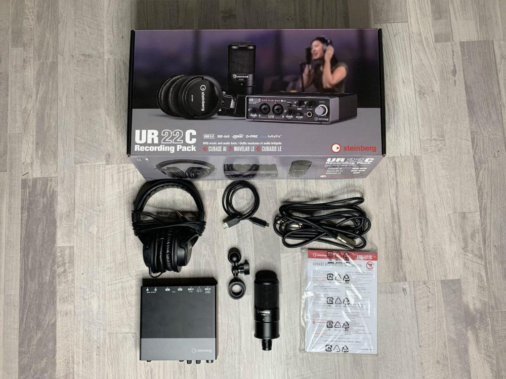 Комплект поставки Steinberg UR22C Recording Pack