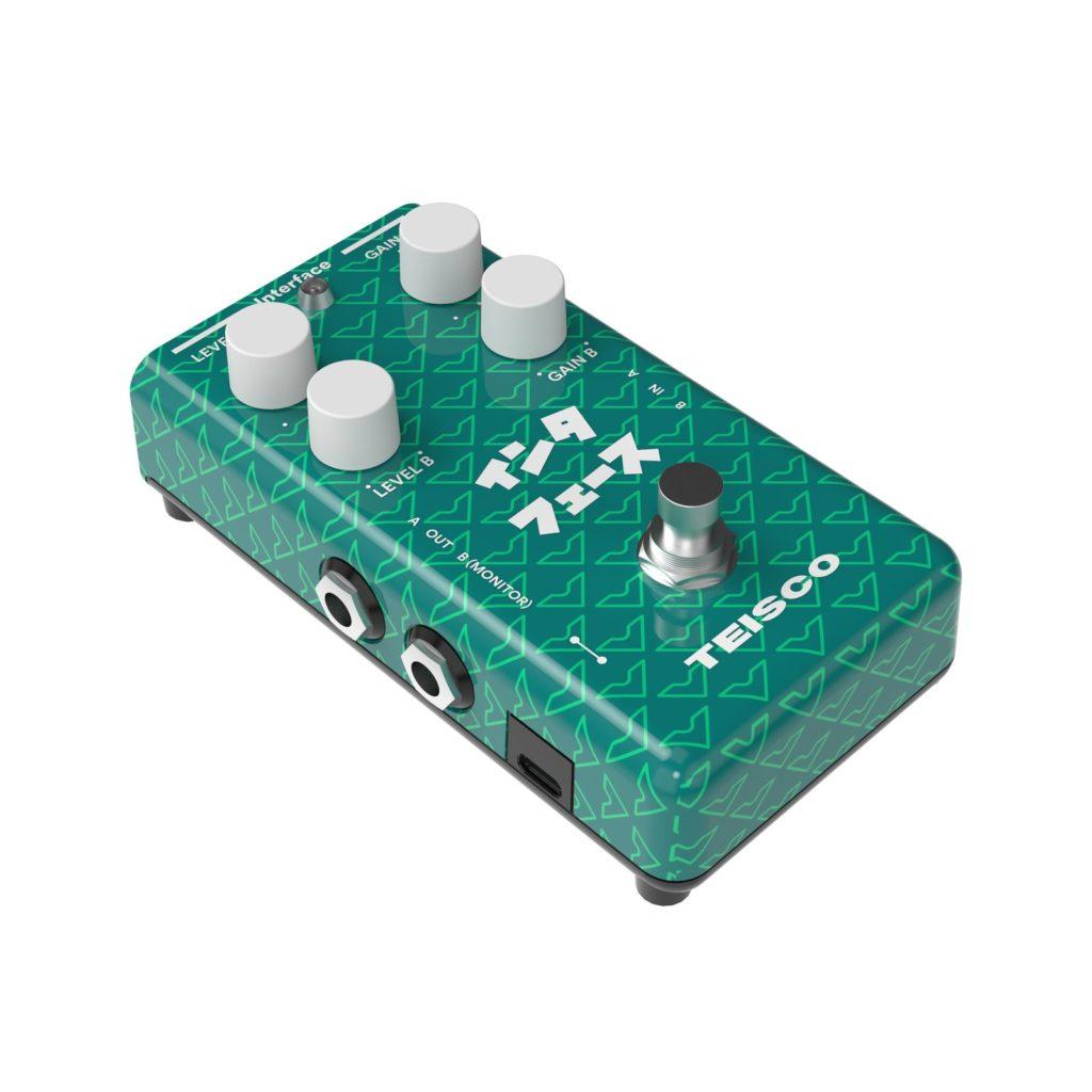 Педаль-аудиоинтерфейс Teisco Interface