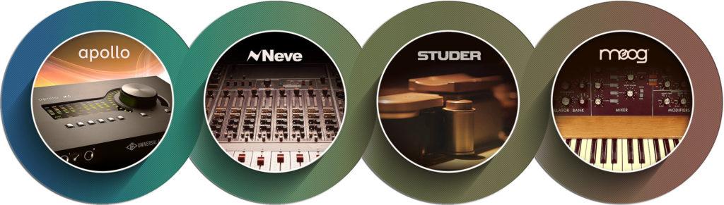 Universal Audio LUNA Recording System Diagram