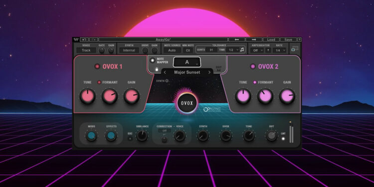 VST-синтезатор Waves OVox Vocal Resynthesis