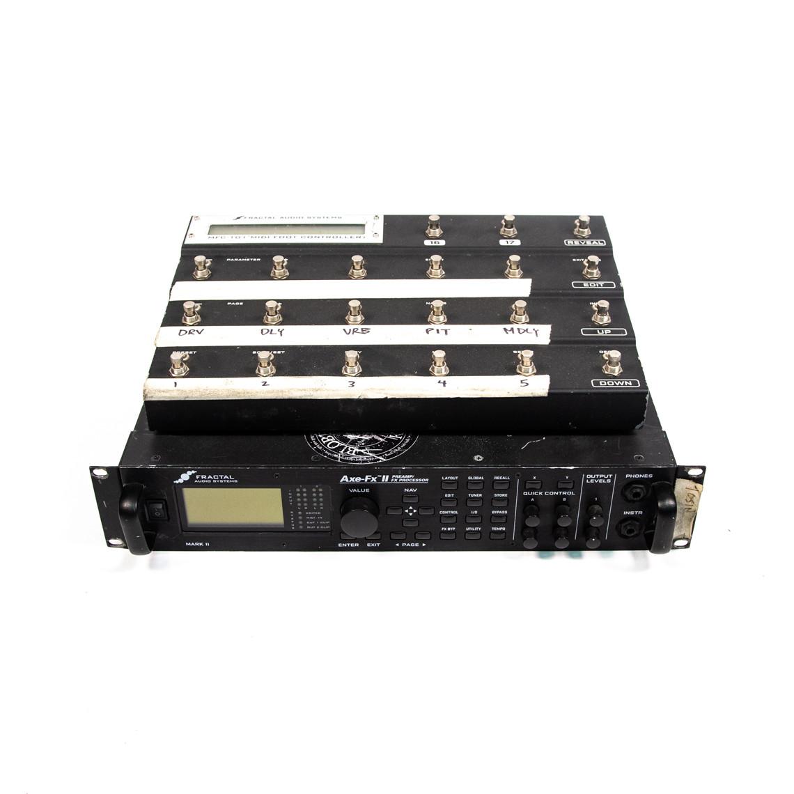 Fractal Audio AxeFX II XL MFC-101 MKII Midi Foot Controller
