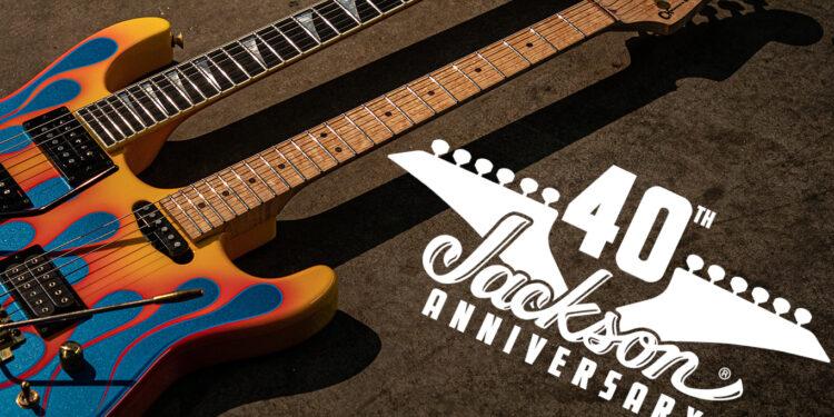Jackson Guitars 40th Anniversary Guitars
