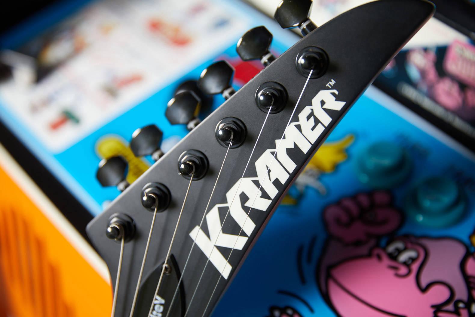 Электрогитара Kramer Nite-V Headstock