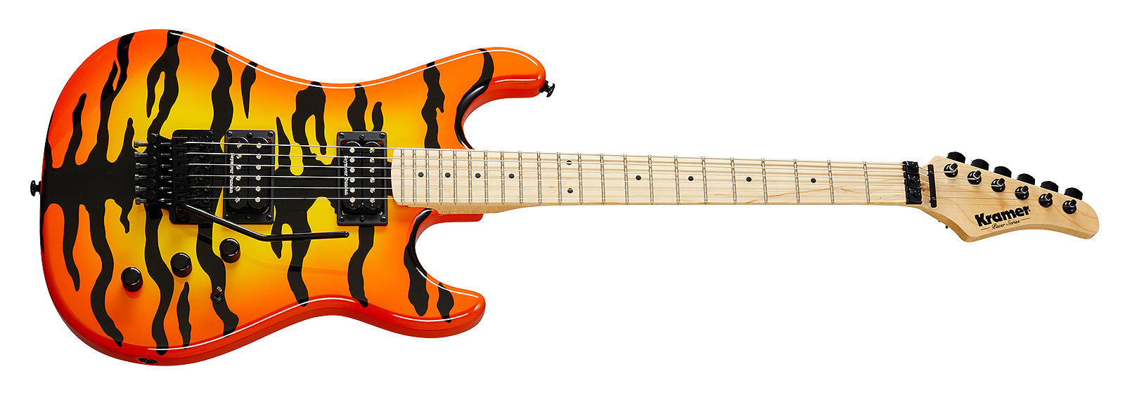Kramer Pacer Vintage Orange Tiger