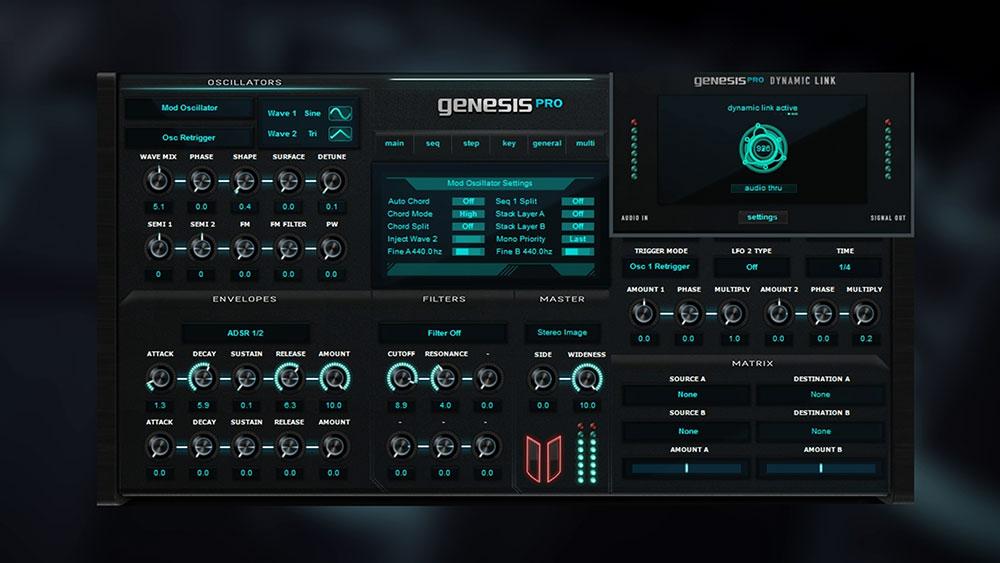 Синтезатор Oz Soft Genesis Pro