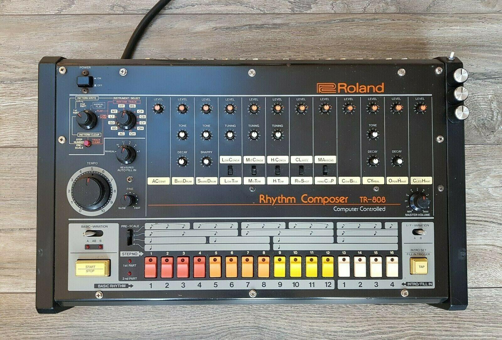 Драм-машина Roland TR-808 включена в технологический Зал славы NAMM TECnology Hall Of Fame