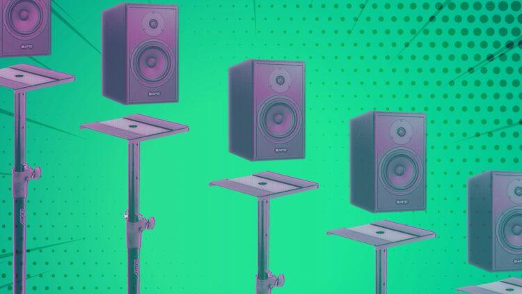 Установка студийных мониторов: как правильно разместить акустику в комнате и студии