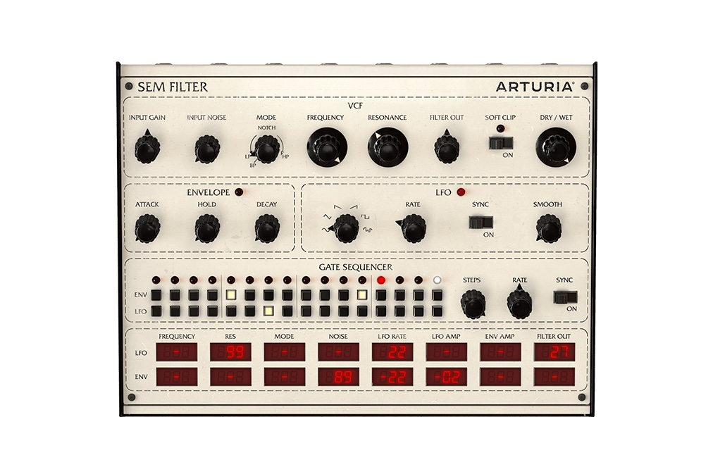 Arturia Filter SEM