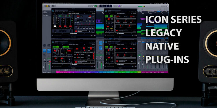 TC Electronic выпустила VST-версии своих контроллеров, TC Electronic Icon Series Legacy Native Plugins