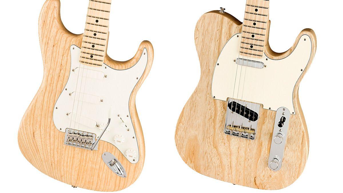 Fender Raw Ash American Performer