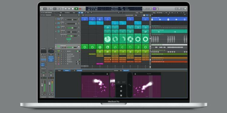 Session View вLogic Pro X
